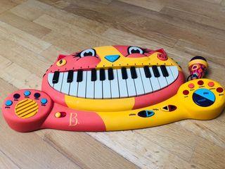 Piano con micrófono marca Imaginarium