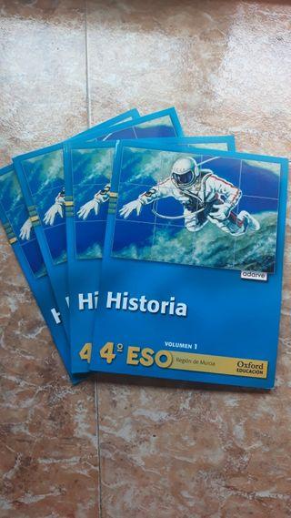 libros de historia 4 ESO