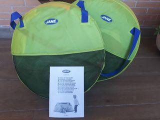 Dos Higlus para niños Jane, con protección solar