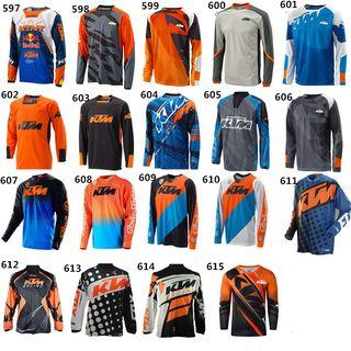 Camisetas MTB ENDURO MOTOCROSS KTM nuevas
