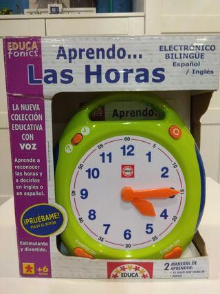 Reloj de Educa para aprender las Horas