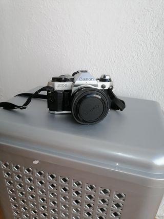 CÁMARA FOTOS Canon AE-1 ANALOGICA