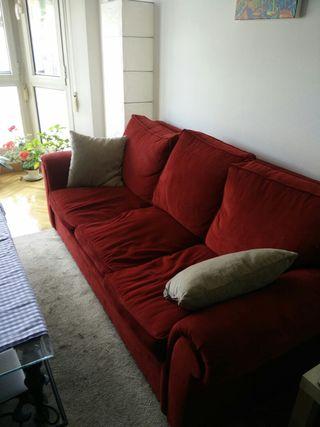 Sofa cama 3 plazas terciopelo