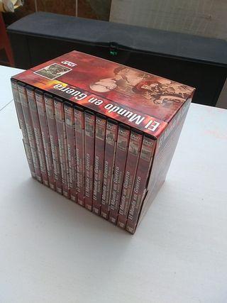 """colección de DVD """"El mundo en guerra"""""""