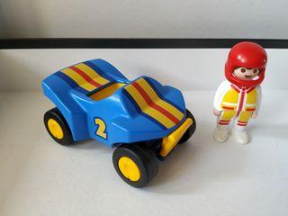 Playmobil 123. Coche de carreras