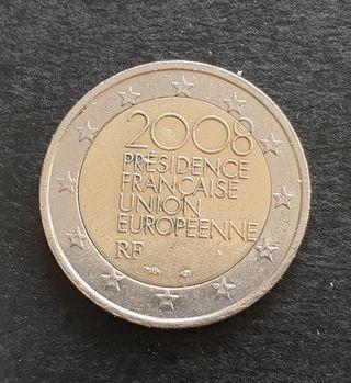 Dos euros conmemorativos de Francia 2008