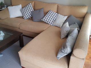 sofá chaise longe, medidas 2.90 x 2.10 x 100 profu