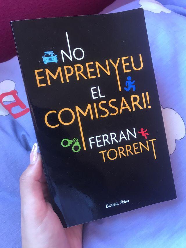 Libro No emprenyeu el comissari de Ferran Torrent