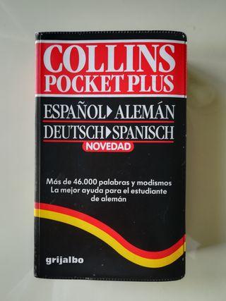 Diccionario Alemán-Español Collins Pocket Plus