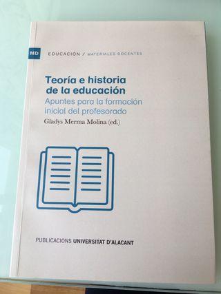 Teoría e historia de la educación. UA