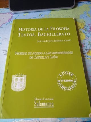 Libro Historia de la Filosofía Textos Bachillerato