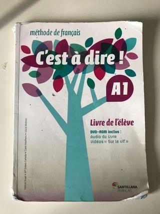 Libro Francés Santillana 1 Bachillerato