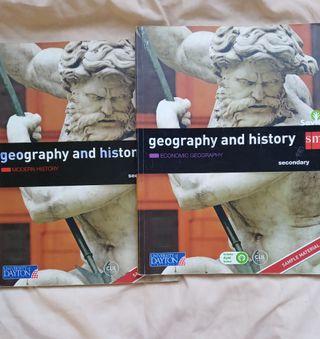 geography and history secundaria(los dos libros)