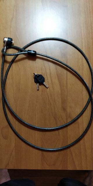 Cable antirrobo para PC Portátil