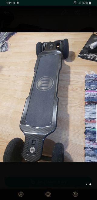 Skate eléctrico Evolve carbon Gt