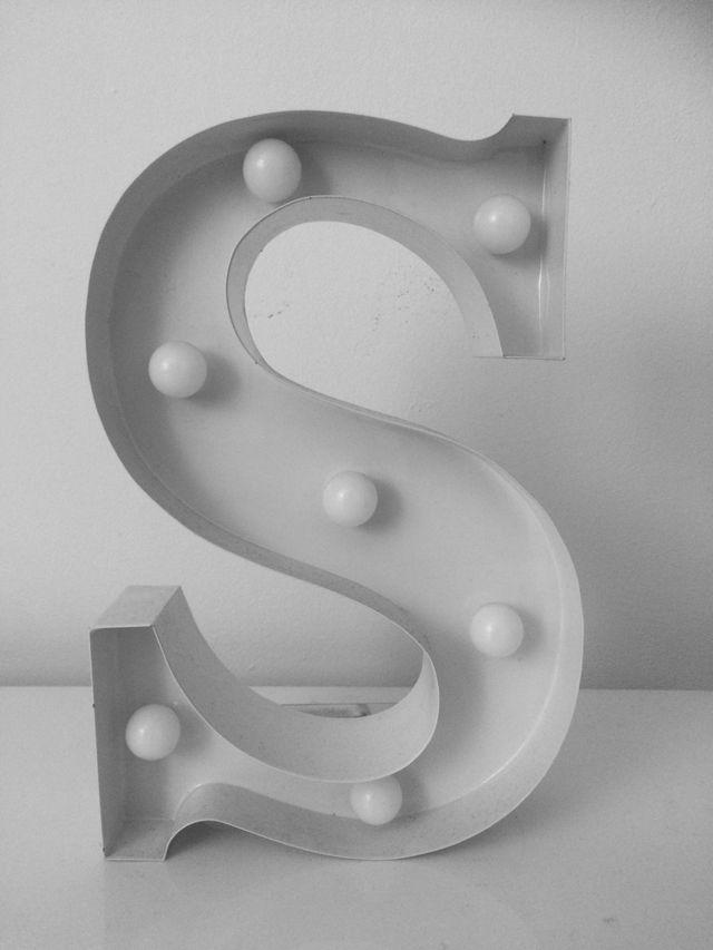 Letter S Decoration