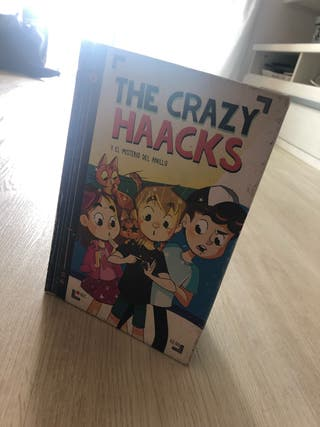 Libro the crazy haacks y el misterio del anillo