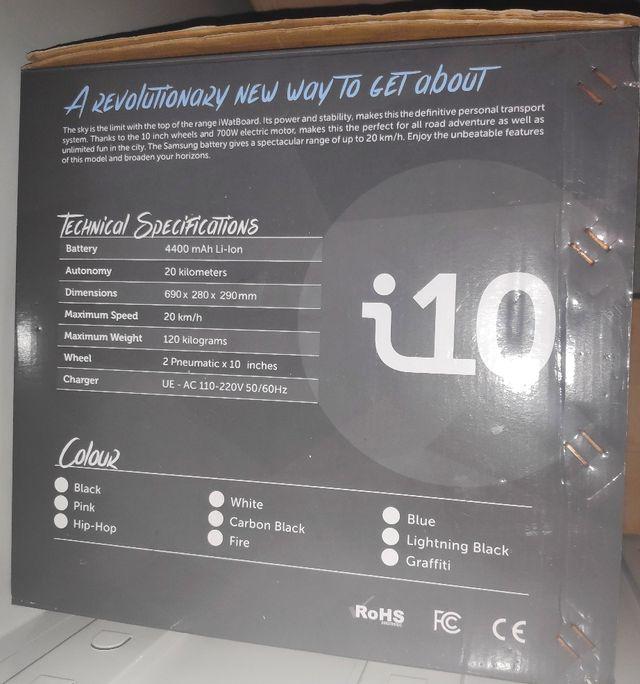 Patinete eléctrico Hoverboard