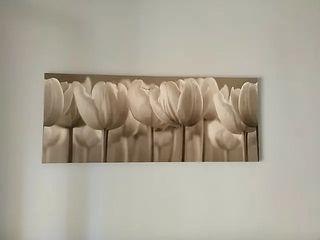 Cuadro Ikea tulipanes