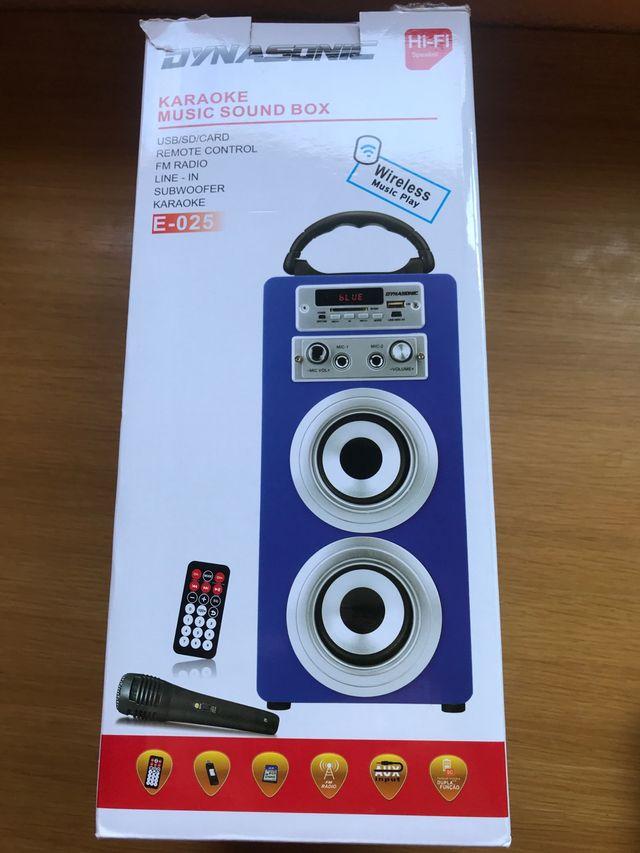 Altavoz xon Karaoke Radio etc