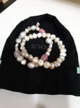 Pulseras perlas tous