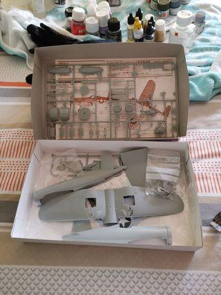 .Maqueta Corsair F4u-1a