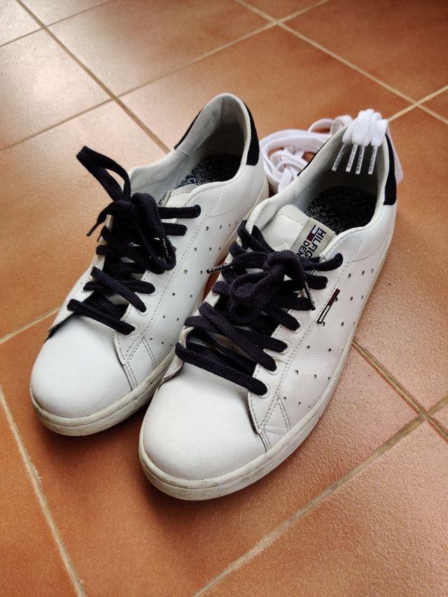 zapatillas blancas Tommy Hilfiger