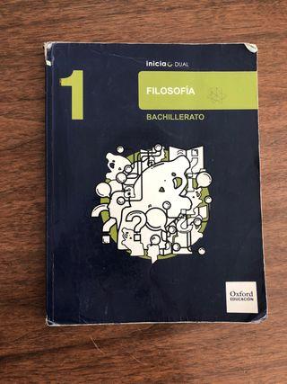 Libro filosofía 1ºBach de Oxford