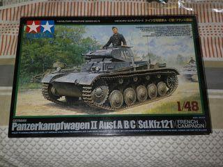 Maqueta Panzer II Tamiya