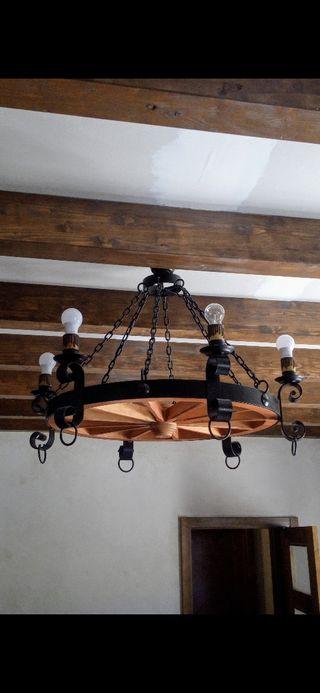 LAMPARA RUSTICA