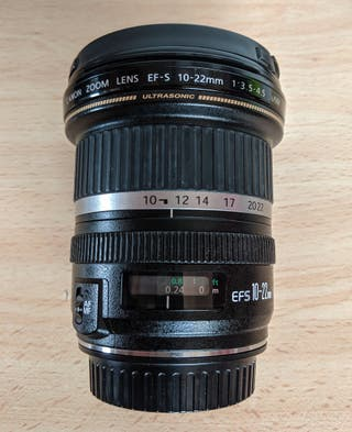 Objetivo Canon 10-22 USM f3.5/4.5 . Calidad +++!