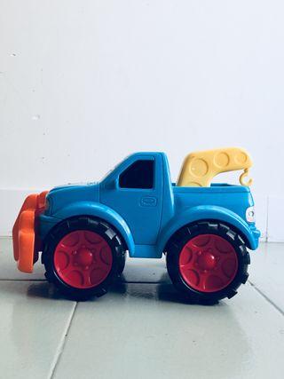 Juguete coche azul