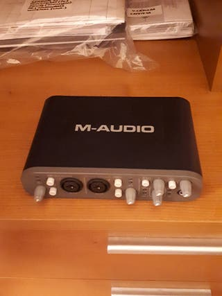 Tarjeta de sonido M Audio