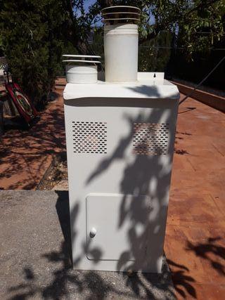 Armario exterior para calentador de butano