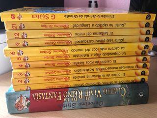 Colección 11 libros Geronimo Stilton