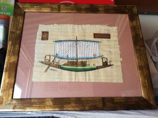 cuadro papiro Egipto
