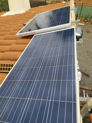 Kit energia renovable solar + eolica