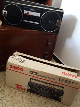 radio Cassette Sanyo recorder