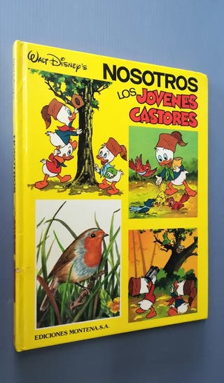Disney 1984.. JÓVENES CASTORES, N°4