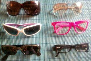 Gafas diferentes marcas