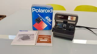 Cámara fotos instantáneas Polaroid años 80
