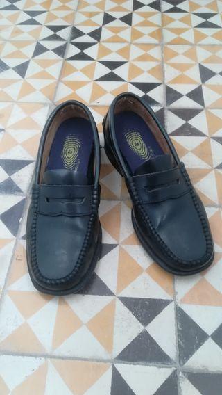 Zapatos mocasines talla 39