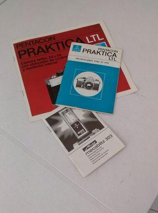 Cámara fotográfica PRAKTICA LTL.