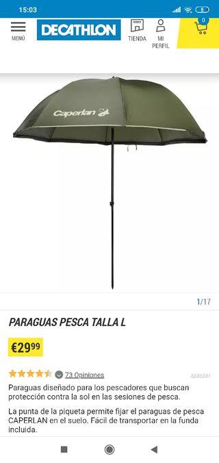 Paraguas Pesca Decathlon