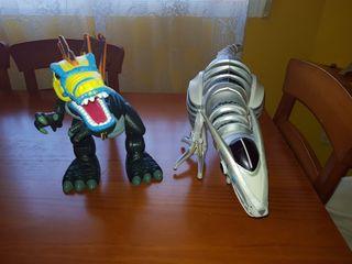 Lote dinosaurios robot