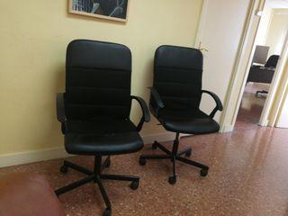 2 sillas de oficina de Ikea