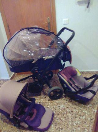 Carrito de bebè 3pzas Jane Rider
