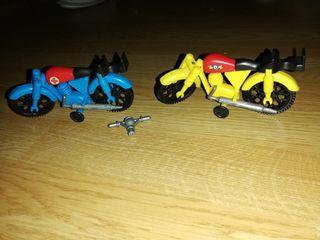 AIRGAMBOYS, LOTE DE 2 MOTOS AIRGAM AÑOS 80
