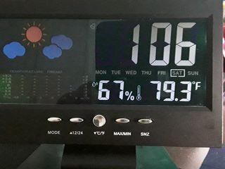 Lanker Reloj De Alarma Digital