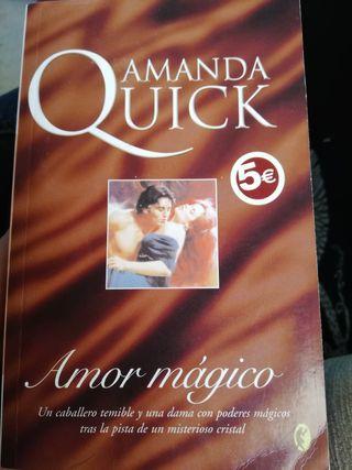 Novela de amor de Amanda Quick